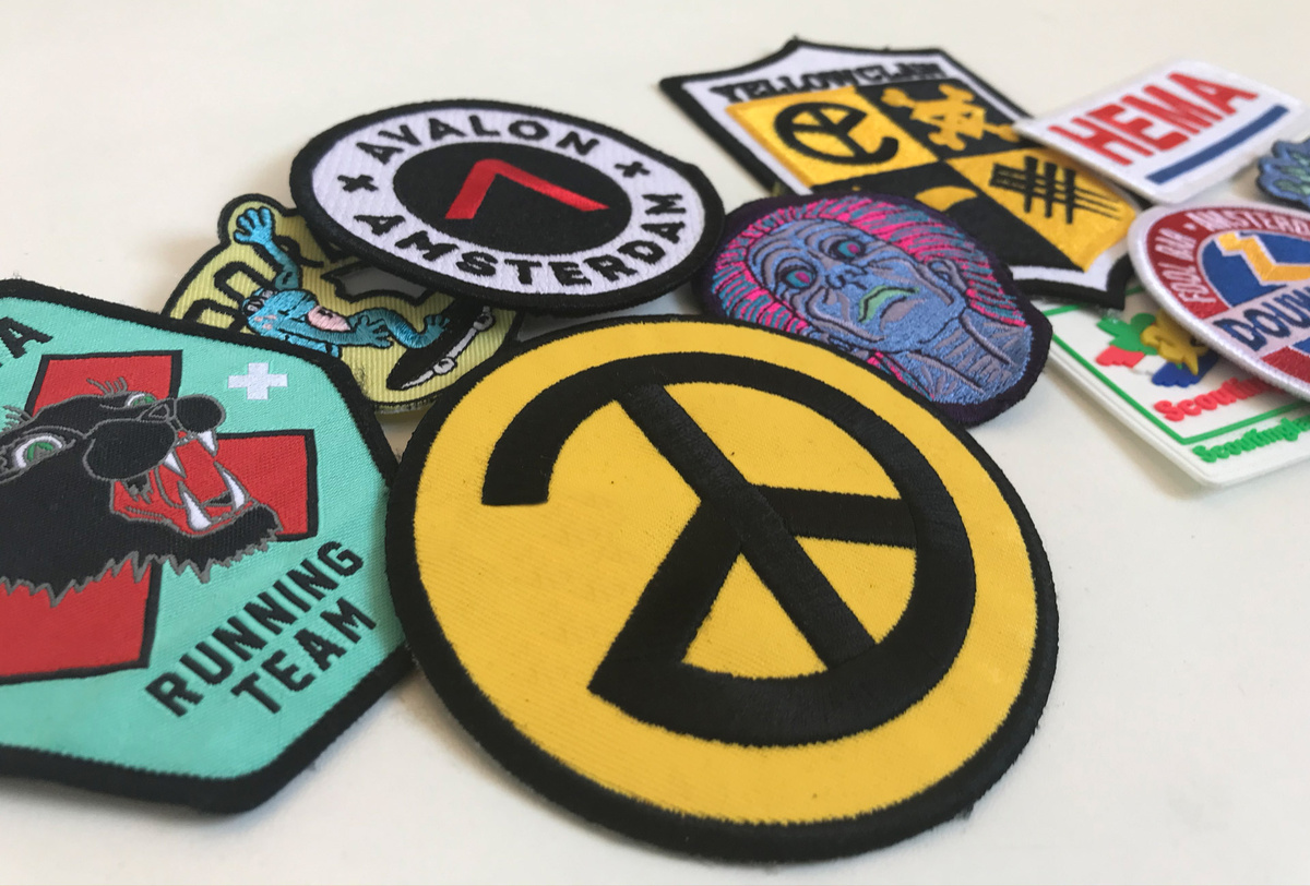 Badges patches emblemen more color