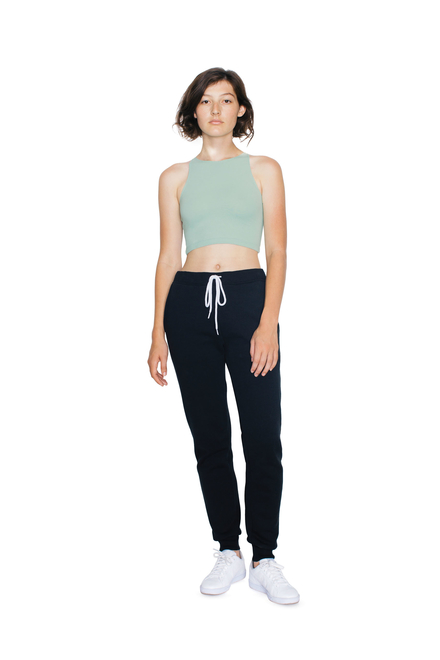 American Apparel AMA Top Crop Sleeveless Cot/Spandex For Her