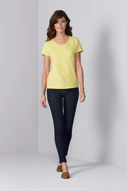 Gildan Gildan T-shirt Premium Cotton V-neck SS for her