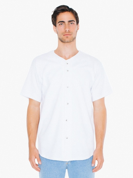 American Apparel AMA T-shirt Baseball Jersey Thick Knit
