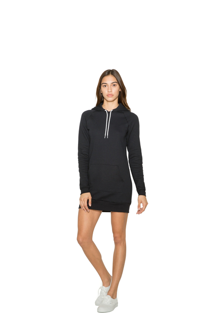 American Apparel AMA Fleece Hooded dress For Her