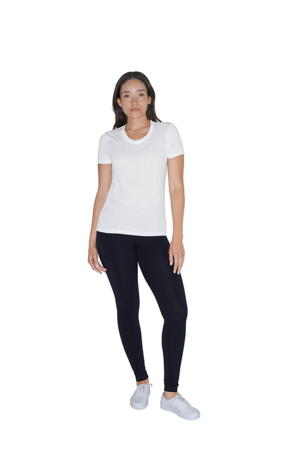American Apparel AMA T-shirt Crewneck Sublimation For Her