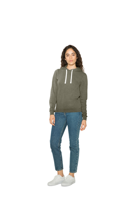 American Apparel AMA Mid-Length Hoodie for Her
