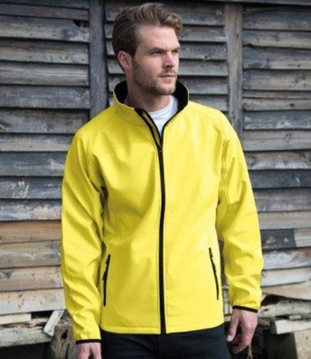 Result Result Core Printable Soft Shell Jacket