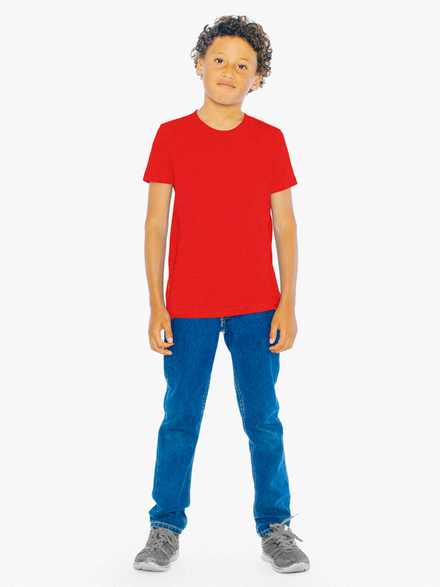 American Apparel AMA T-shirt Fine Jersey For Youth