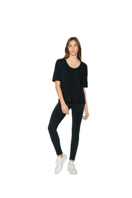 American Apparel AMA U-Neck T-shirt For Her