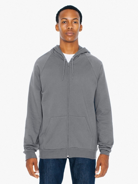 American Apparel AMA Sweater Hooded Zip California Fleece