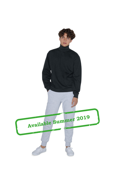 American Apparel AMA Fleece Turtleneck Unisex