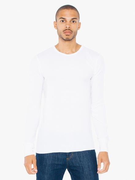 American Apparel AMA T-shirt Thermal LS Unisex