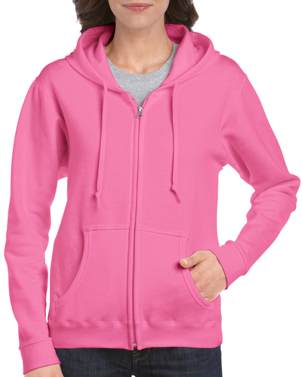 Gildan Gildan Sweater Hooded Full Zip HeavyBlend for her