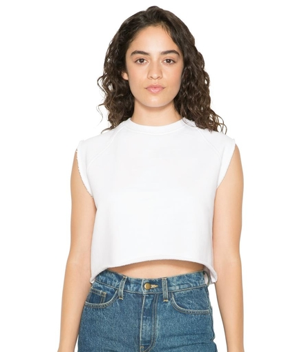 American Apparel Ladies Heavy Terry Sleeveless Dance Top