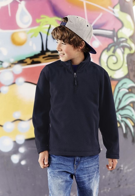 Russell Children's Quarter Zip Outdoor Fleece