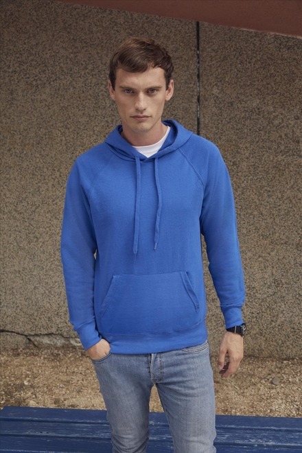 Fruit of the loom Lightweight Hooded Sweat