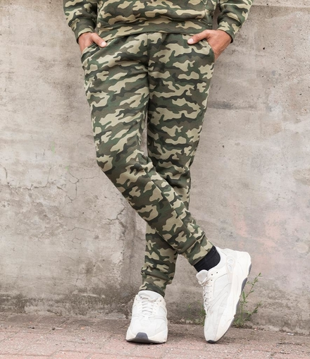 Just Hoods AWDis Tapered Track Pants