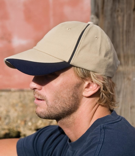 Result Headwear Result Heavy Brushed Cotton Cap