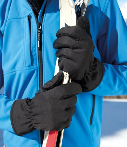 Result Winter Essentials Result Soft Shell Thermal Gloves