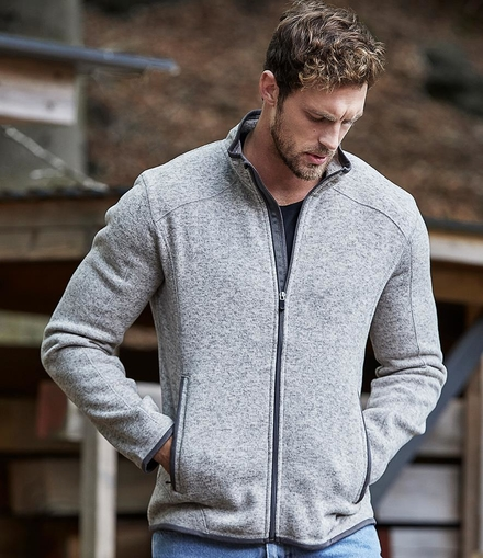 Tee Jays Knitted Outdoor Fleece Jacket