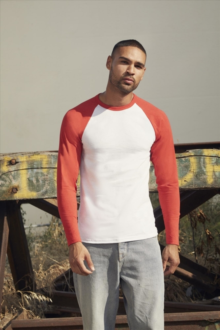 Fruit of the loom Valueweight longsleeve Baseball T