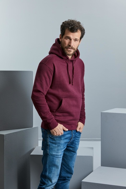 Russell Men's Authentic Melange Hooded Sweat