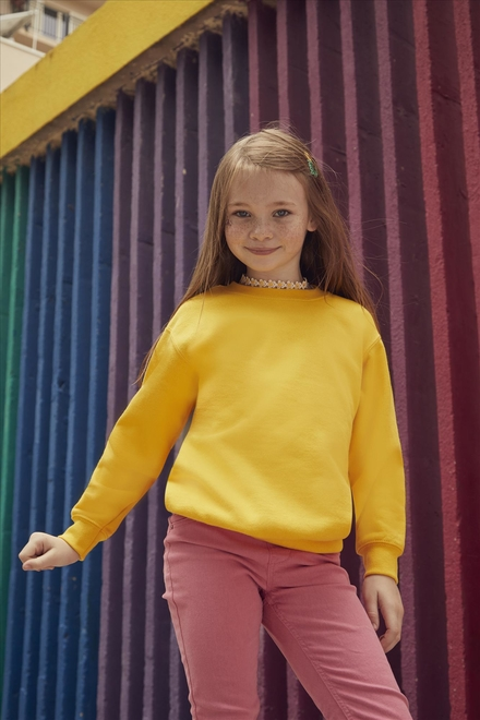 Fruit of the loom Kids Classic Set-In Sweat