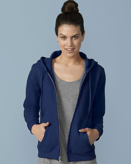 Gildan-PRX Heavy Blend Ladies' Full Zip Hooded Sweatshirt
