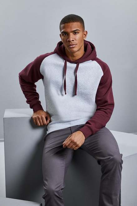 Russell Authentic Hooded Baseball Sweat