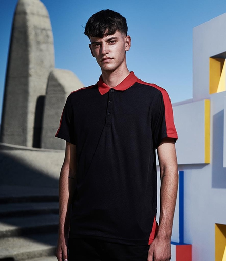 Regatta Contrast Collection Regatta Contrast Quick Wicking Piqué Polo Shirt
